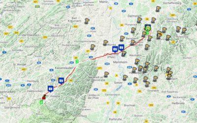 Von Erlau nach Kaiserslautern und Frankreich