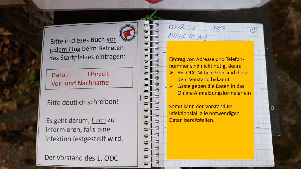 Startplatzbuch 1